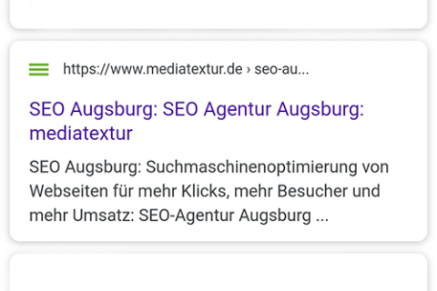 Google Search Snippet Optimierung